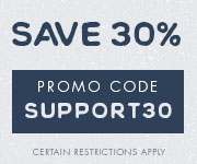 Save with promo code SUPPORT30
