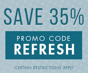 Save with promo code REFRESH
